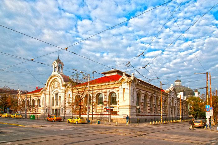 Central Market Corridor Sofia Strolling Tour